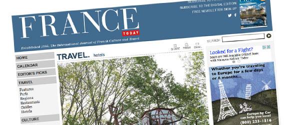 Article France Today sur l'arbre aux oiseaux