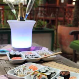 Formule Sushi Jardin - Cabanes perchées Les Nids d'Hôtes