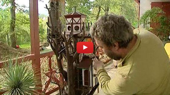 Reportage France 3 sur les cabanes perchées les Nids d'hotes